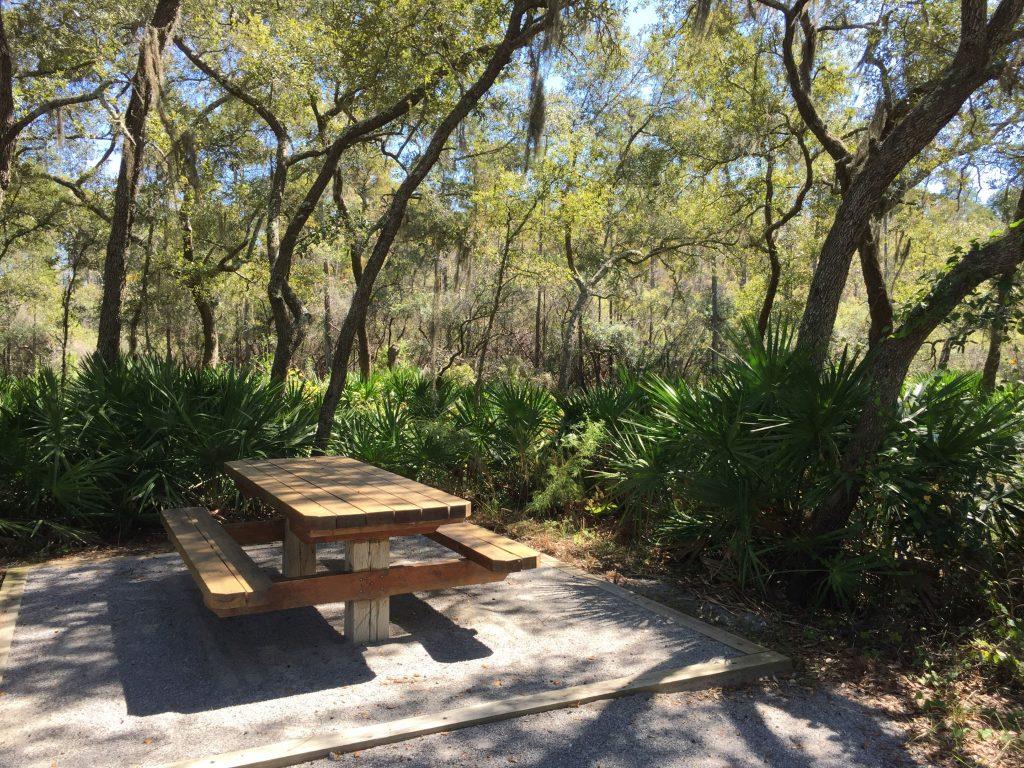 PCB Conservation Park Picnic Tables