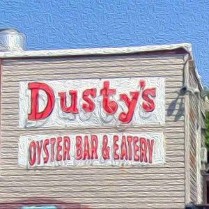 West-End PCB Dusty's Oyster Bar in Oil