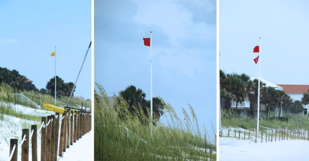 Panama City Beach Flag Warning System