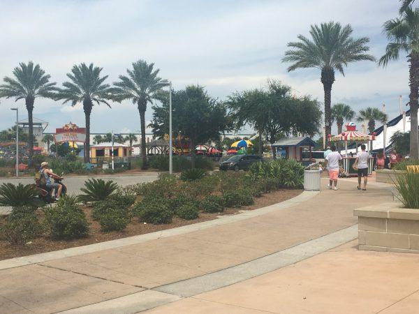 Pier Park Amusement Area
