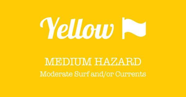 PanamaCity Beach Flags Yellow Flag