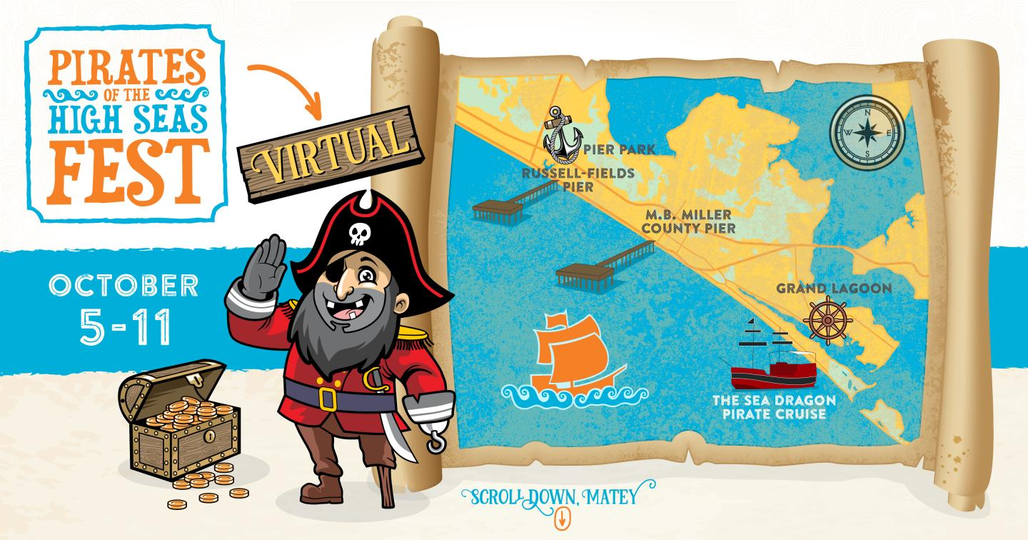 Pirates of the High Seas Virtual Event