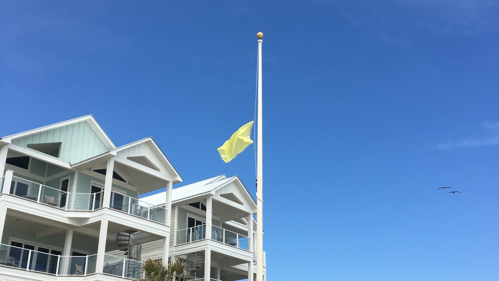 Beach Access Flag