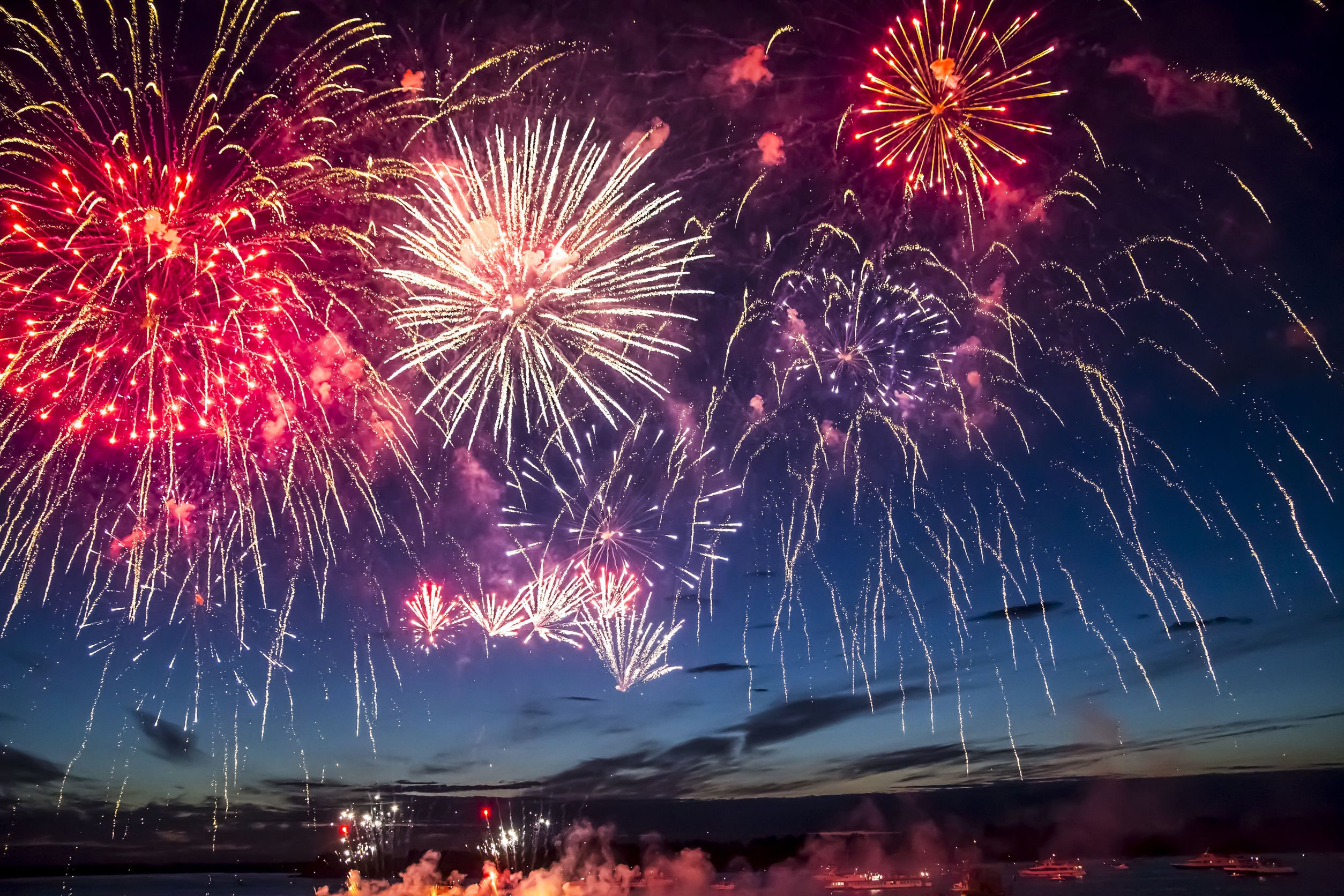 Where to watch fireworks in Panama City Beach Florida - 4th of July