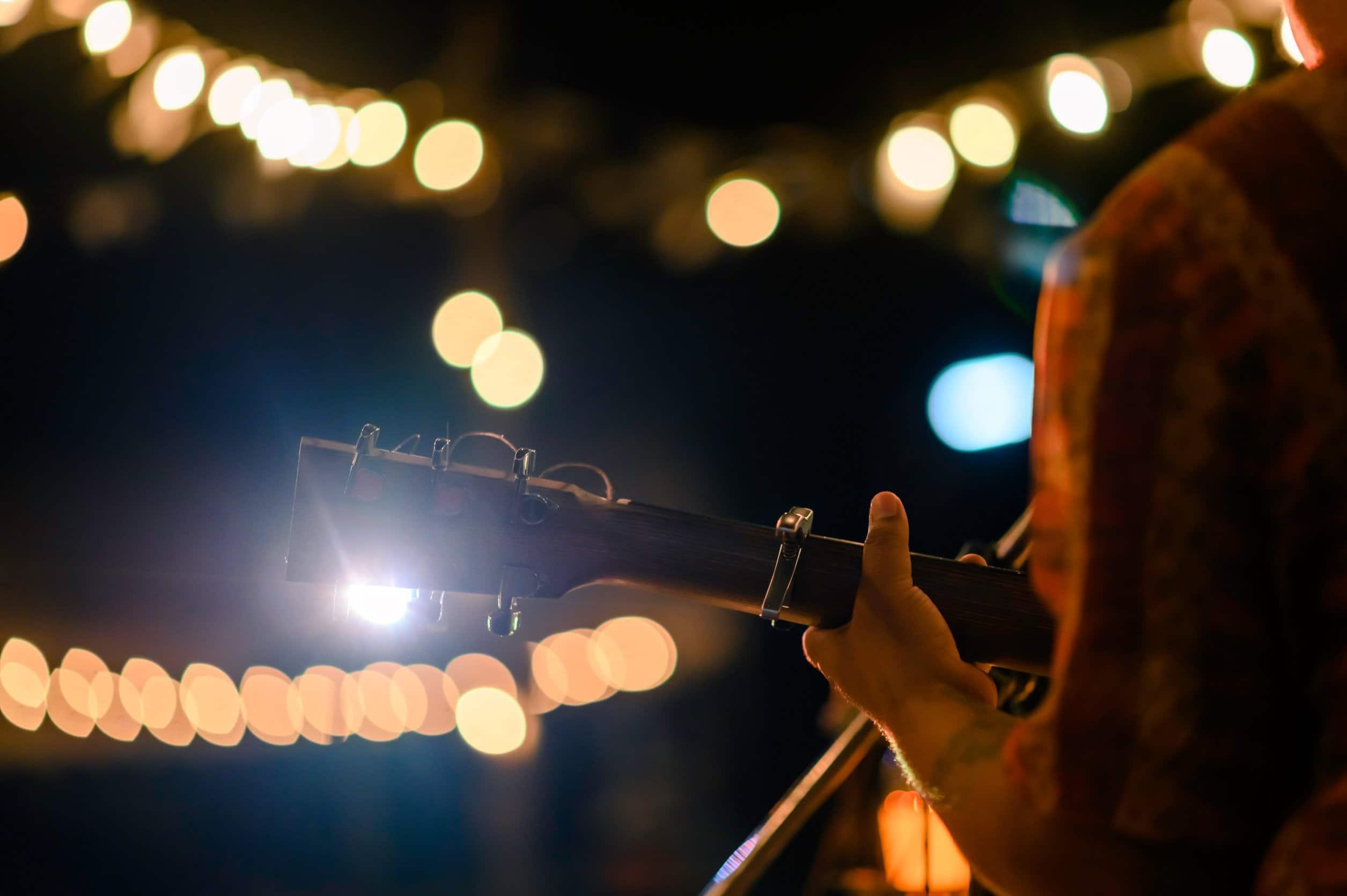 Country Singer on Stage - Gulf Coast Jam Panama City Beach Florida