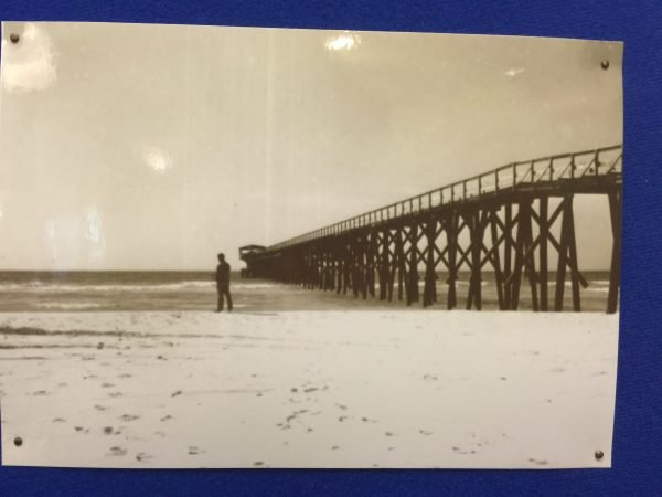 That old pier that everyone takes pics in front of now at Phillips Inlet