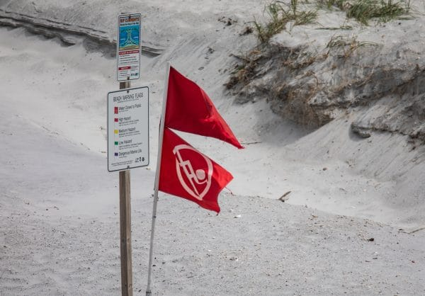 Closed to the public flags