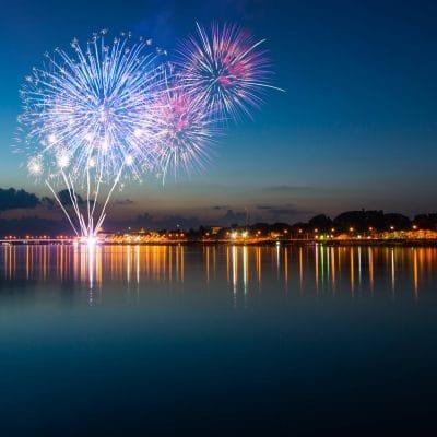 Grand Lagoon Fireworks
